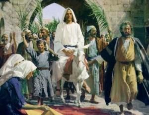 jesusEntering Jerusalem