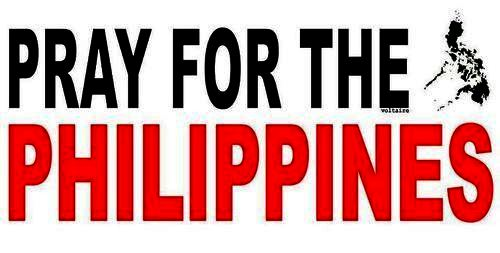 Pray for the Phillipines